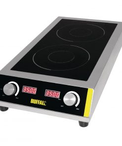 Buffalo Heavy Duty Double Induction Hob