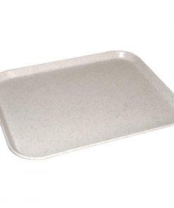 Kristallon Fibreglass Tray Light Grannite 14 x 18 in