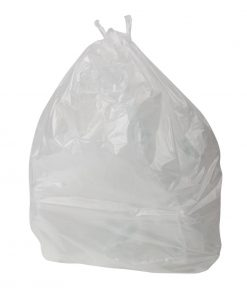 Jantex Pedal Bin Liners White 10 Litre Pack of 1000