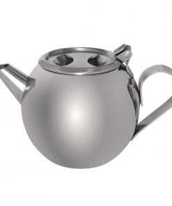 Olympia Stacking Stainless Steel Teapot