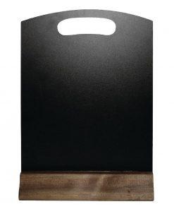 Olympia Freestanding Table Top Blackboard 315 x 212mm