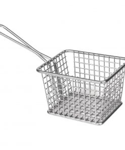 Olympia Chip basket Square with handle Large