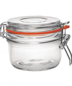 Six Vogue Preserve Jars 125ml