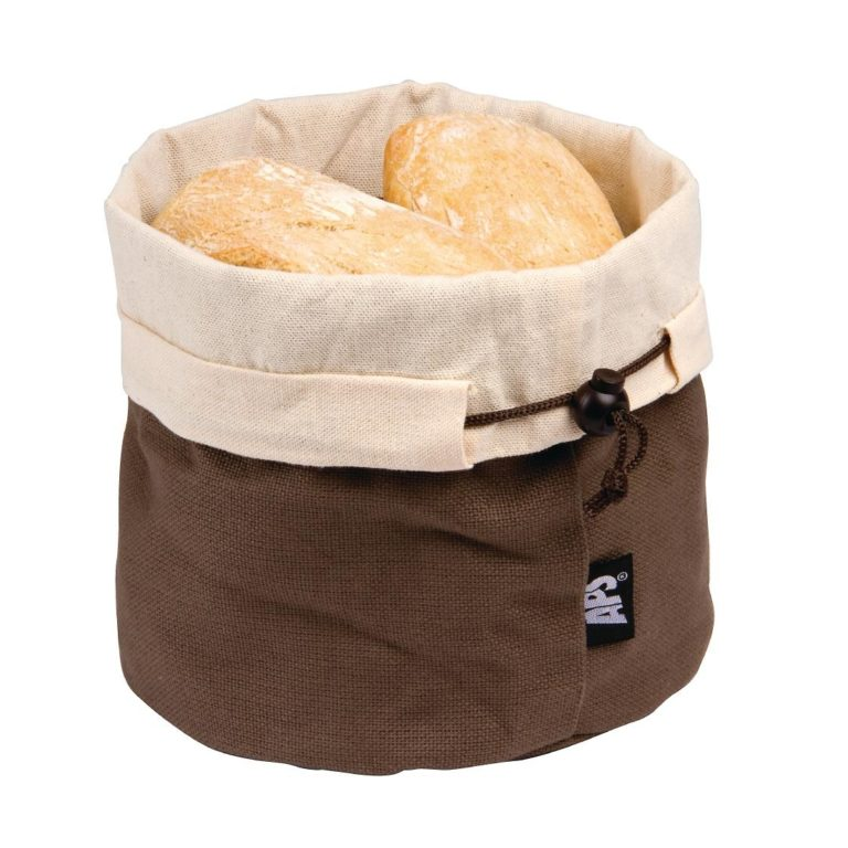 APS Brown and Beige Bread Basket