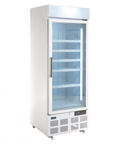Polar Display Freezer with Light Box 412Ltr