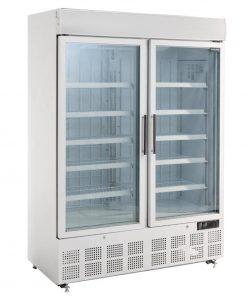 Polar Display Freezer with Light Box 920Ltr