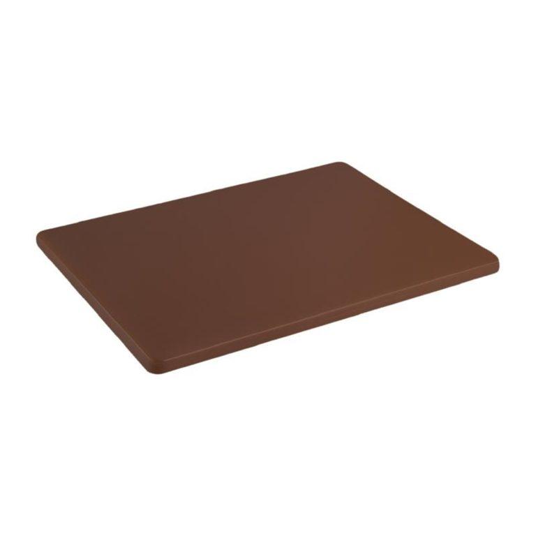 Hygiplas Low Density Brown Chopping Board Small