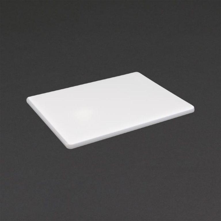 Hygiplas Low Density White Chopping Board Small