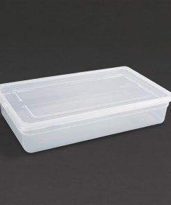Vogue Polypropylene 1/1 Gastronorm Container with Lid 100mm