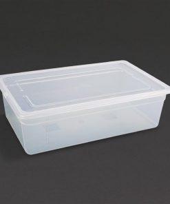Vogue Polypropylene 1/1 Gastronorm Container with Lid 150mm