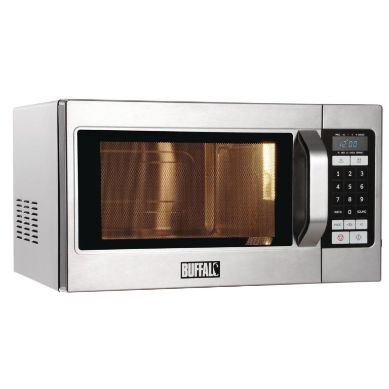 Buffalo Programmable Commercial Microwave Oven 1100W