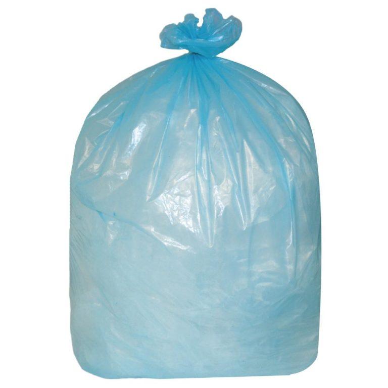 Jantex Garbage Bags Blue 80 Litre Pack of 200