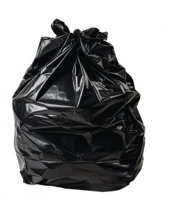 Jantex Large Heavy Duty Garbage Bags 80 Litre Black Pack of 200