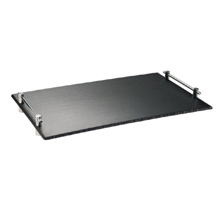 APS Slate Effect Melamine Stacking Tray 530x 325mm