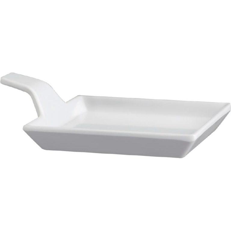 APS Melamine Fingerfood Dish White 95mm