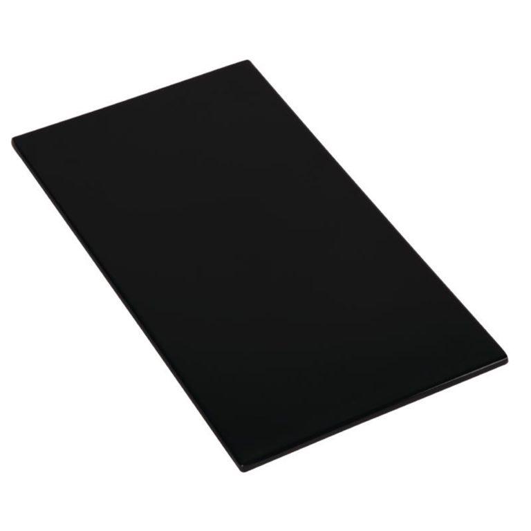 APS Zero Melamine Platter Black GN 1/3