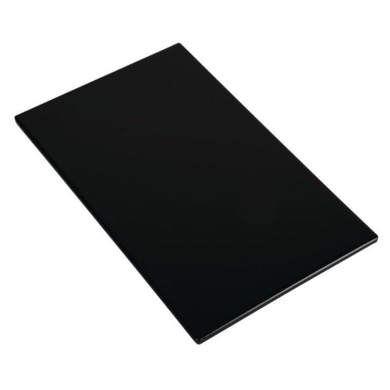 APS Zero Melamine Platter Black GN 1/4