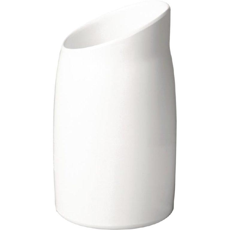 APS Casual Dressing Pot Melamine White 1Ltr