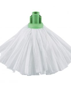 Jantex Standard Big White Socket Mop Green