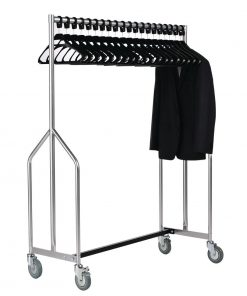 Heavy Duty Z Garment Rail With 20 Hangers
