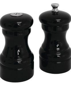 Salt and Pepper Set Black