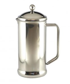 Olympia Polished Stainless Steel Cafetiere 6 Cup