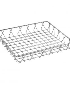 Olympia St/St Wire Display Basket 350 x 300 x 50mm