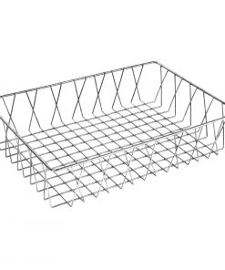 Olympia St/St Wire Display Basket 450 x 300 x 100mm
