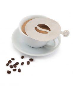 Coffee Stencil Coffee Bean Design