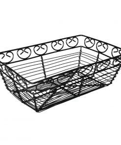 Olympia Black Wire Basket