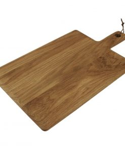 Olympia Oak Handled Wooden Board Large