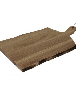 Olympia Acacia Wavy Handled wooden Board Large