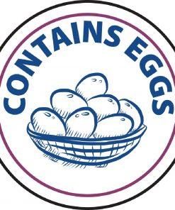 Vogue Food Allergen Label Egg