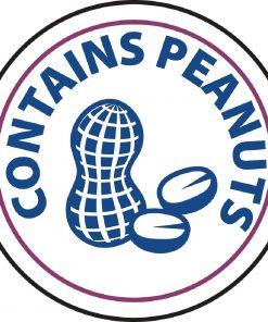 Vogue Food Allergen Label Peanuts