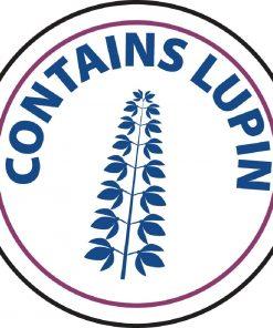 Vogue Food Allergen Label Lupin