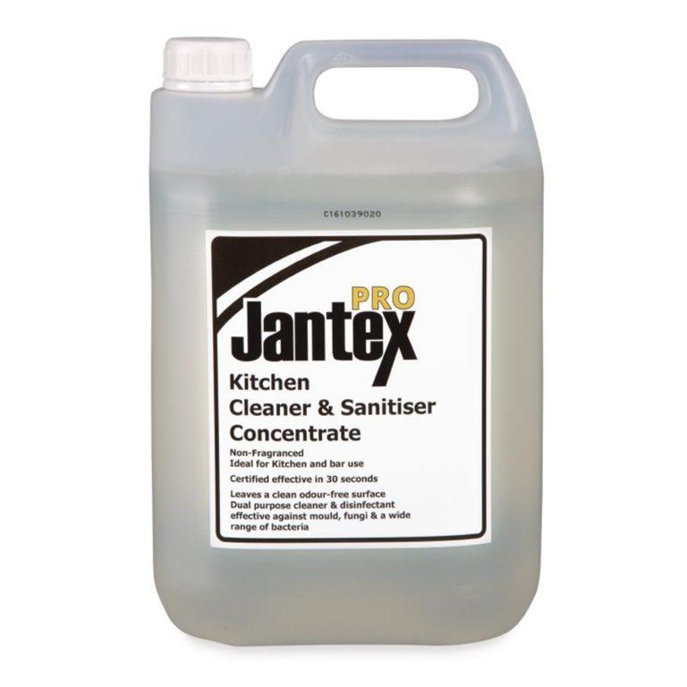 Jantex Pro Kitchen Cleaner and Sanitiser 5 Litre