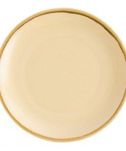 Olympia Kiln Round Plate Sandstone 280mm