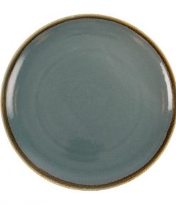 Olympia Kiln Round Plate Ocean 280mm