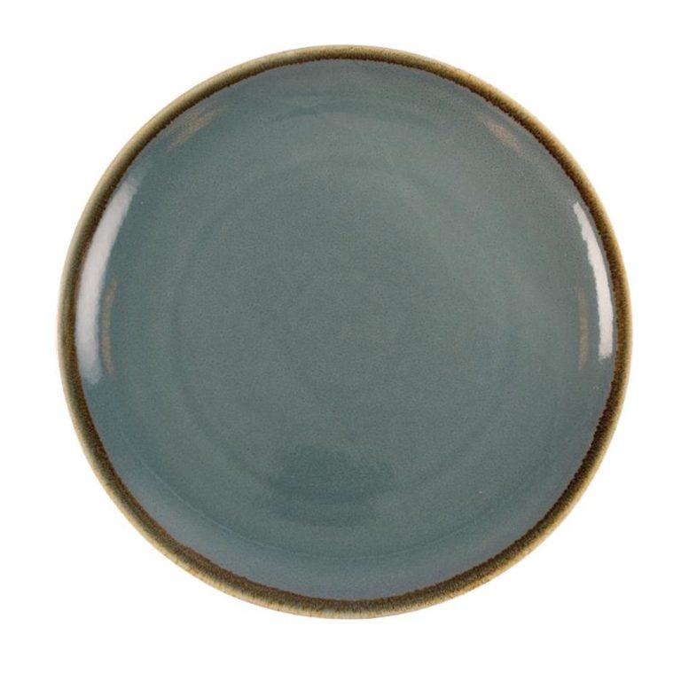 Olympia Kiln Round Plate Ocean 280mm