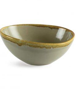 Olympia Kiln Bowl Moss 215mm