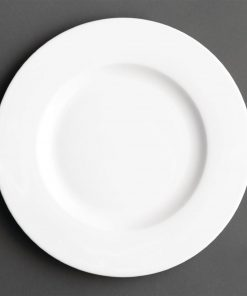 Royal Porcelain Maxadura Wide Rim Flat Plate 225mm