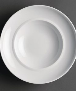 Royal Porcelain Classic White Soup Bowl 230mm
