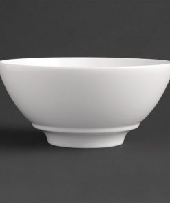 Royal Porcelain Classic White Noodle Bowl 180mm