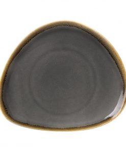 Olympia Kiln Triangular Plate Smoke 230mm