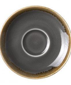 Olympia Kiln Espresso Saucer Smoke