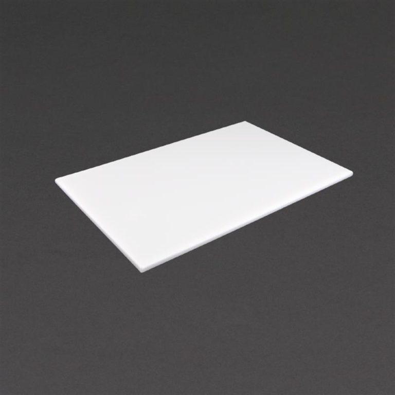 Hygiplas High Density White Chopping Board Standard