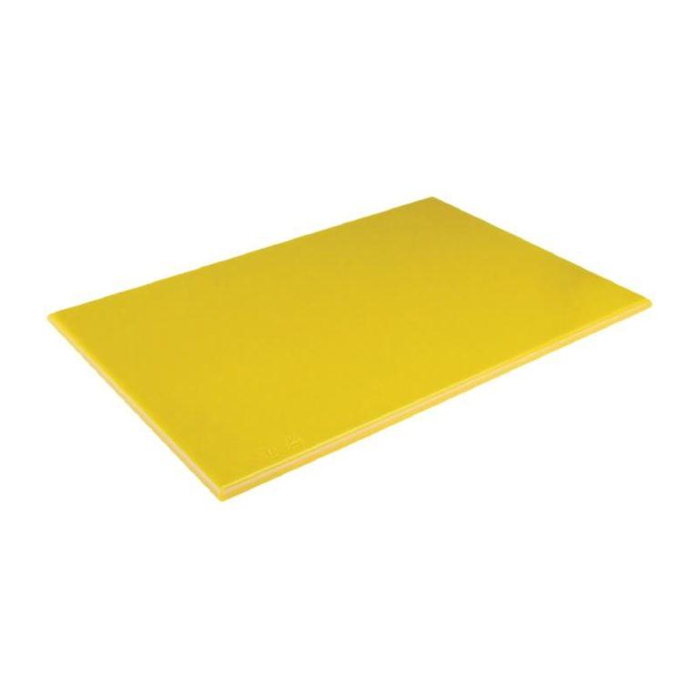 Hygiplas High Density Yellow Chopping Board Standard