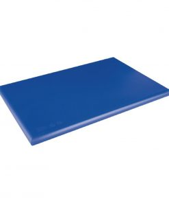 Hygiplas Extra Thick High Density Blue Chopping Board Large