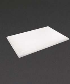 Hygiplas Extra Thick High Density White Chopping Board Standard