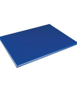 Hygiplas Extra Thick High Density Blue Chopping Board Standard